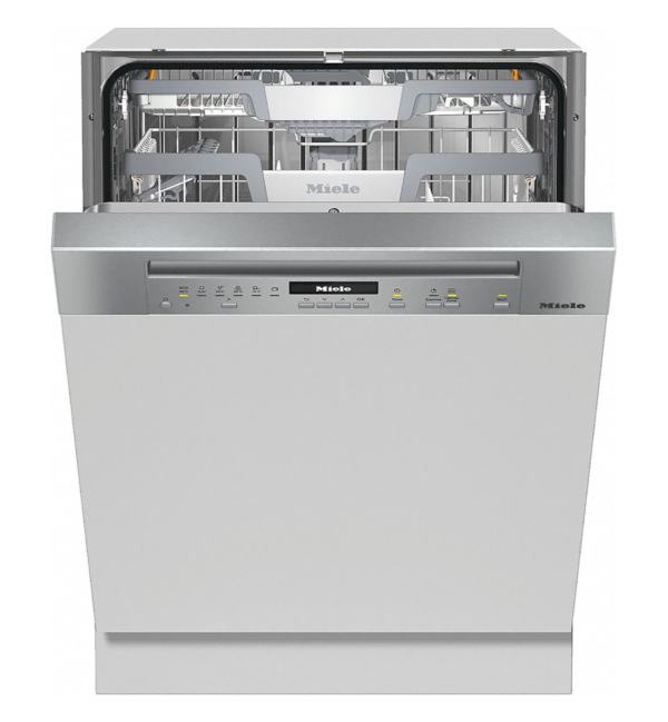 Miele Active Eco G7100 SCi teilintegrierter Geschirrspüler - 60 cm, Edelstahl, A+++