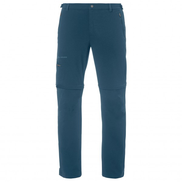 VAUDE - Farley Stretch T-Zip Pants II - Trekkinghose - blau
