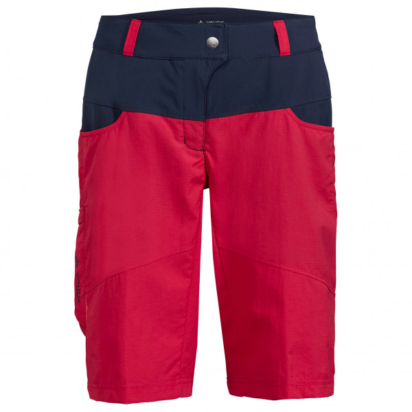 Vaude - Women's Qimsa Shorts - Radhose rot/schwarz