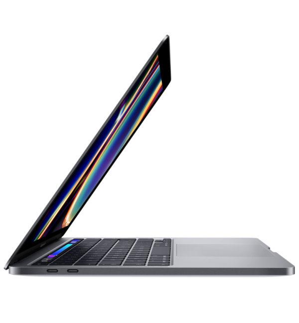 Apple MacBook Pro Notebook 13,3 Zoll vorne Seite