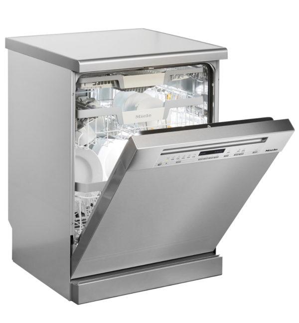 Miele Geschirrspülmaschine G7100SCI SS Seite gekippt