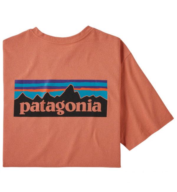 Patagonia P6 Logo Pocket Responsibili Tee T-Shirt apricot
