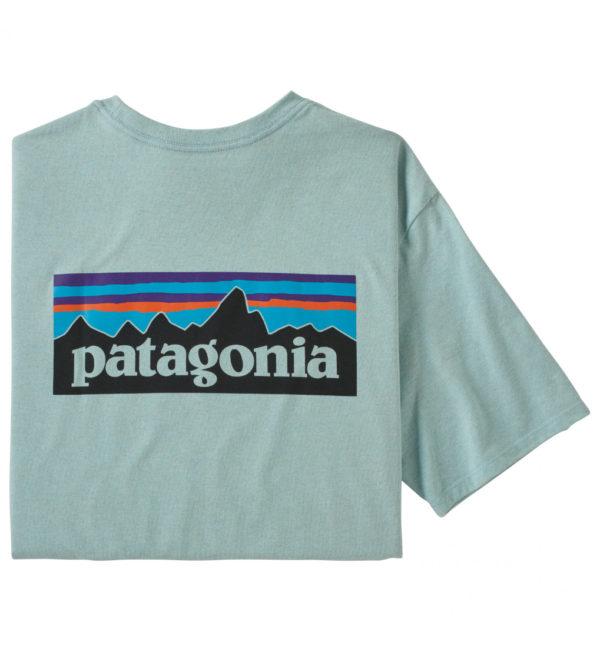 Patagonia P6 Logo Pocket Responsibili Tee T-Shirt mint