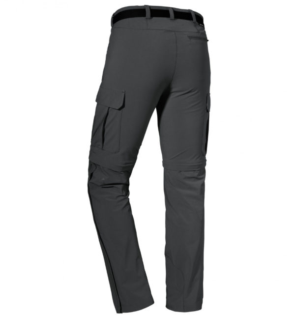Schöffel Pants Kyoto3 Trekkinghose schwarz hinten