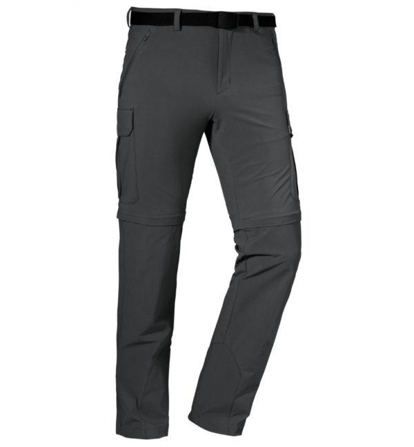Schöffel Pants Kyoto3 Trekkinghose schwarz vorne
