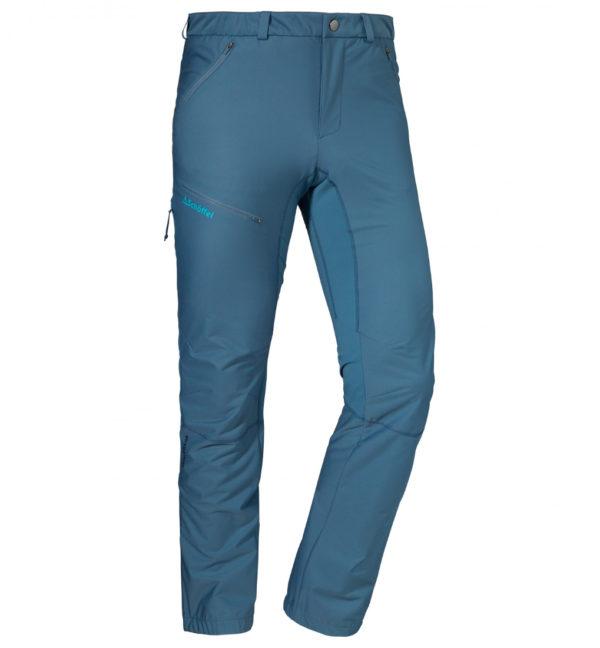 Schöffel Pants Wallis Light Tourenhose blau vorne