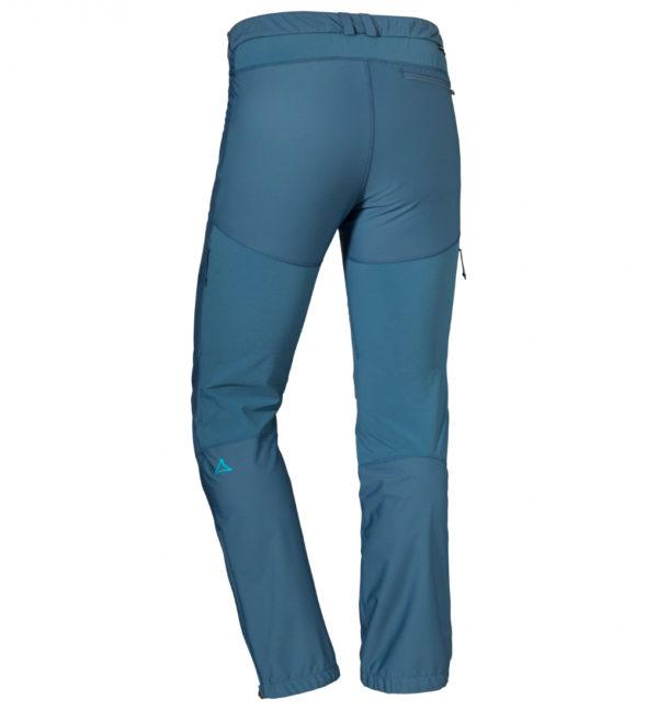 Schöffel Pants Wallis Light Tourenhose blau hinten
