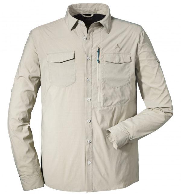 Schöffel Shirt Gibraltar2 Hemd beige