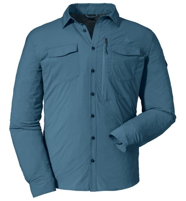 Schöffel Shirt Gibraltar2 Hemd blau