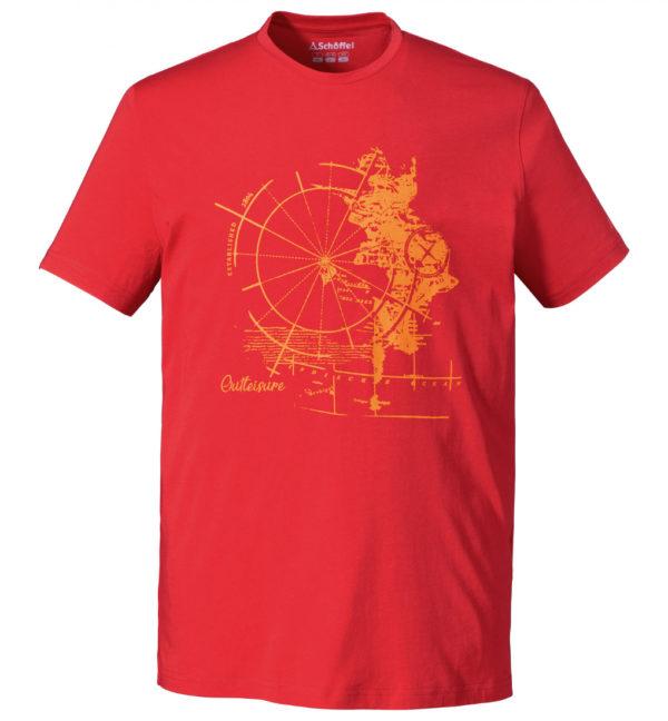 Schöffel T-Shirt El Chorro3 T-Shirt rot