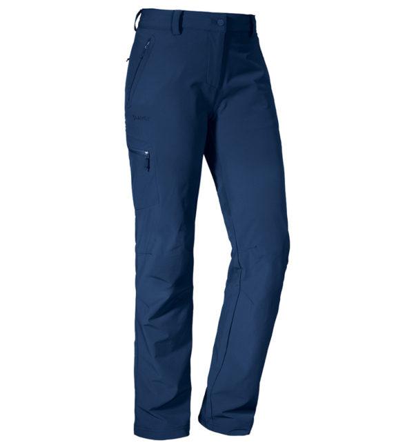 Schöffel Womens Pants Ascona Trekkinghose dunkelblau