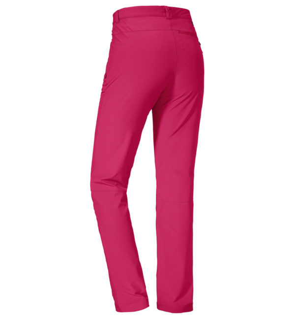 Schöffel Womens Pants Ascona Trekkinghose pink hinten