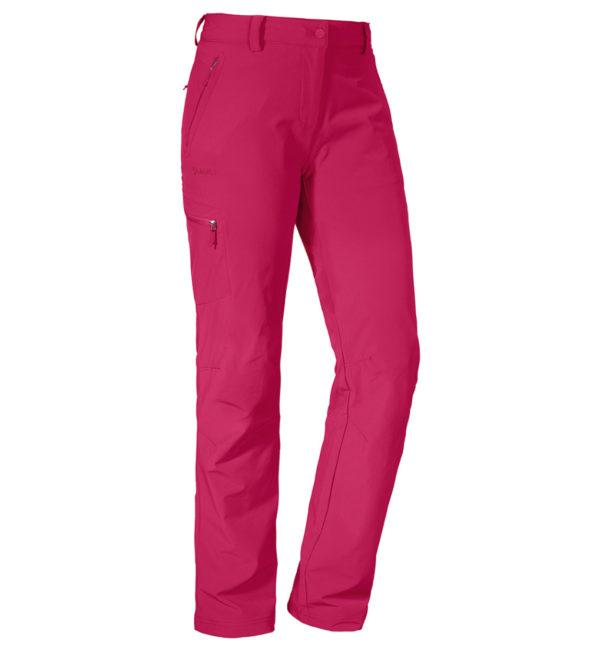 Schöffel Womens Pants Ascona Trekkinghose pink vorne