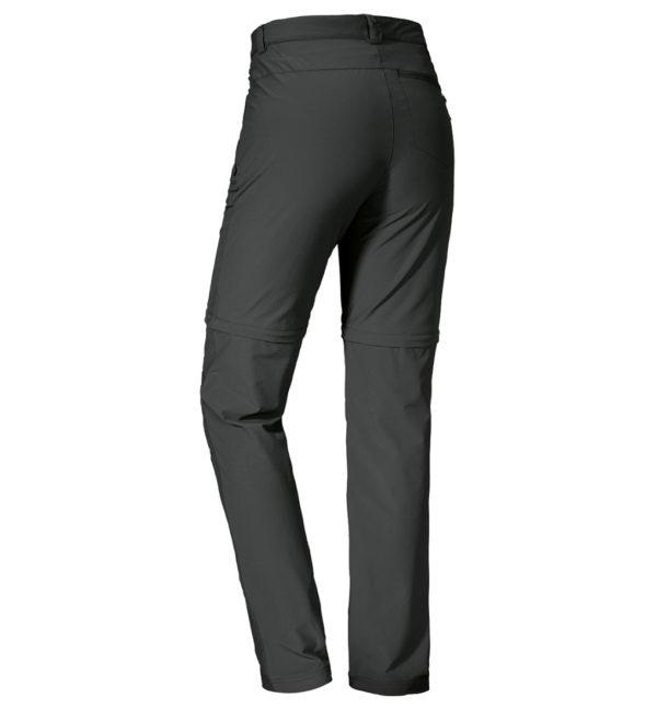 Schöffel Womens Pants Ascona Zip-off Trekkinghose hinten