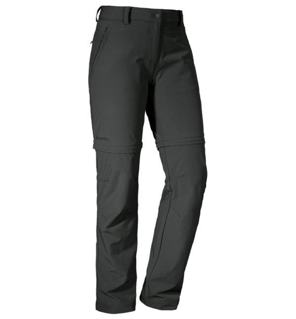 Schöffel Womens Pants Ascona Zip-off Trekkinghose vorne