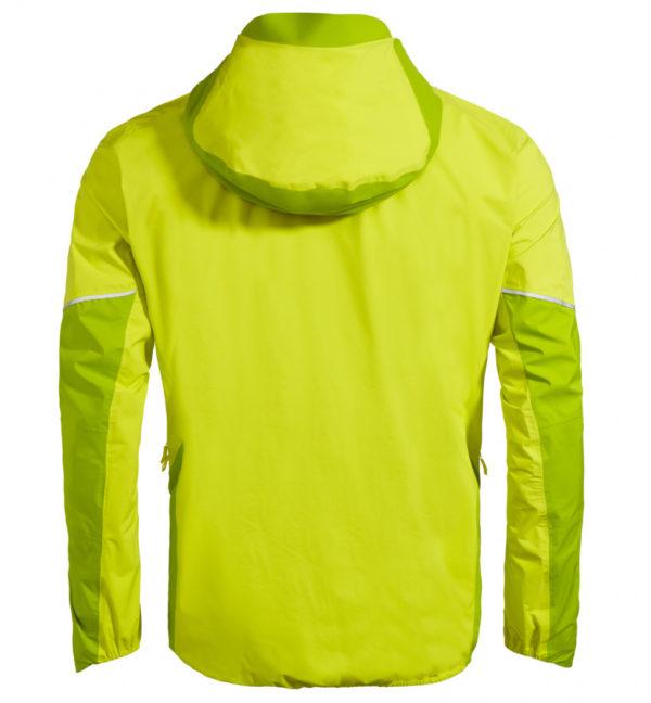 Vaude Larice 25l Jacket II Regenjacke gelb hinten