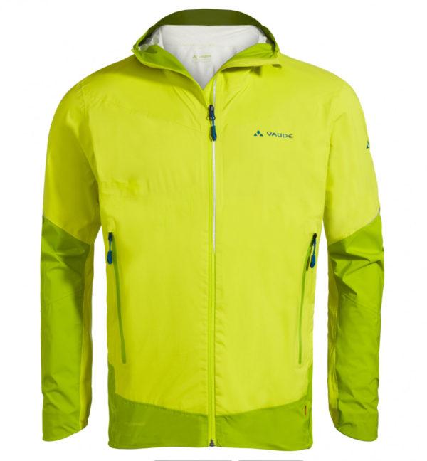 Vaude Larice 25l Jacket II Regenjacke gelb vorne