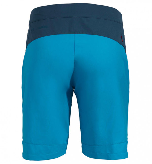 VAUDE Womens Tekoa Shorts II blau hinten