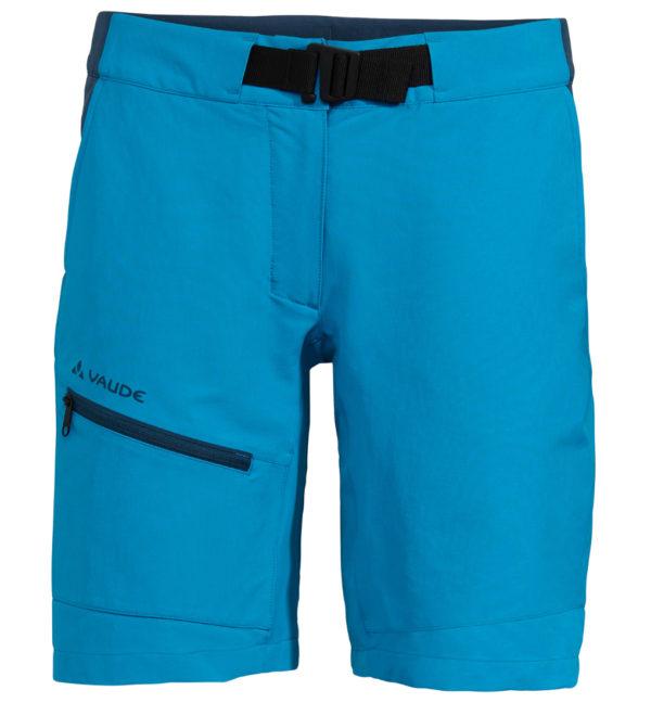 VAUDE Womens Tekoa Shorts II Shorts hellblau vorne