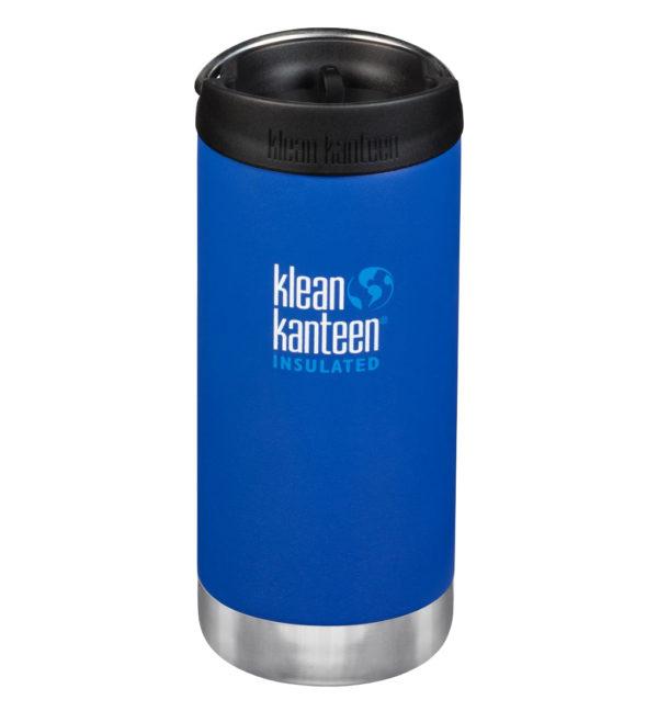Klean Kanteen TKWide vakuumisoliert 355ml mit Cafe Cap blau