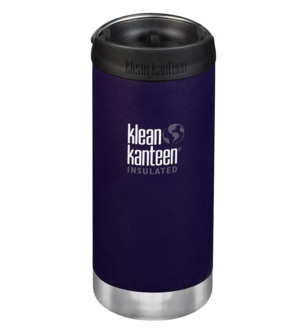 Klean Kanteen TKWide vakuumisoliert 355ml mit Cafe Cap dunkellila