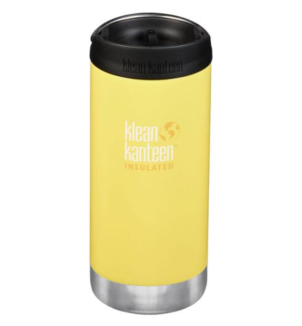 Klean Kanteen TKWide vakuumisoliert 355ml mit Cafe Cap gelb