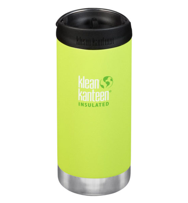 Klean Kanteen TKWide vakuumisoliert 355ml mit Cafe Cap grün