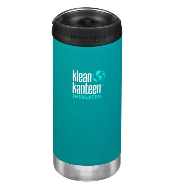 Klean Kanteen TKWide vakuumisoliert 355ml mit Cafe Cap türkis