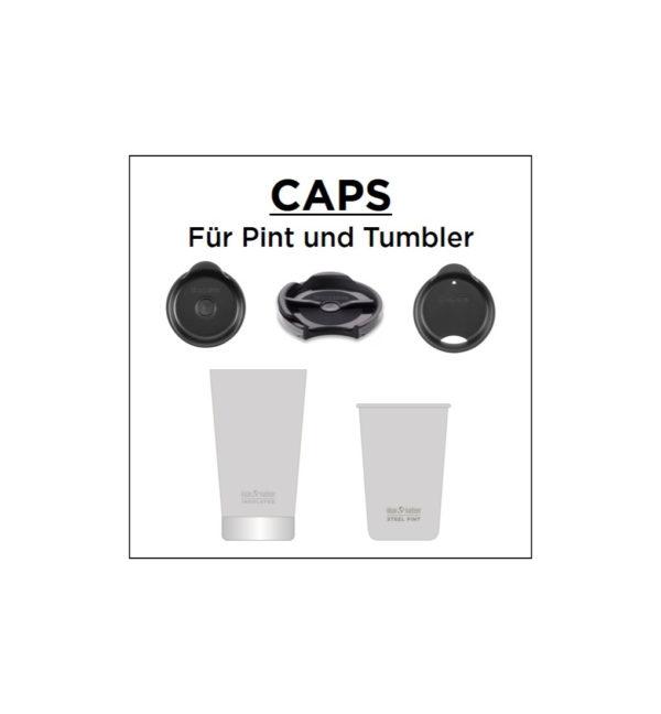 Klean Kanteen Tumbler Vacuum Insulated 473ml Caps