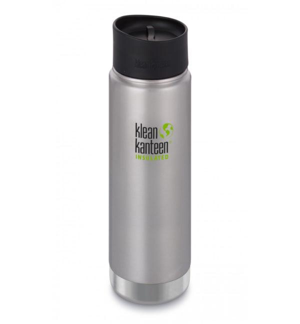 Klean Kanteen Wide Vacuum Insulated 592ml mit Cafe Cap Edelstahl