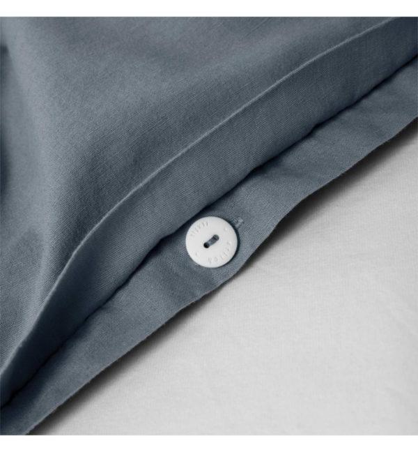 erlich textil Madita taubenblau Detail